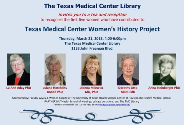 TXMedicalCenterWomensHistory