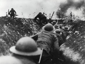 World War I Somme. http://www.bl.uk/learning/timeline/external/worldwar1somme-tl.jpg