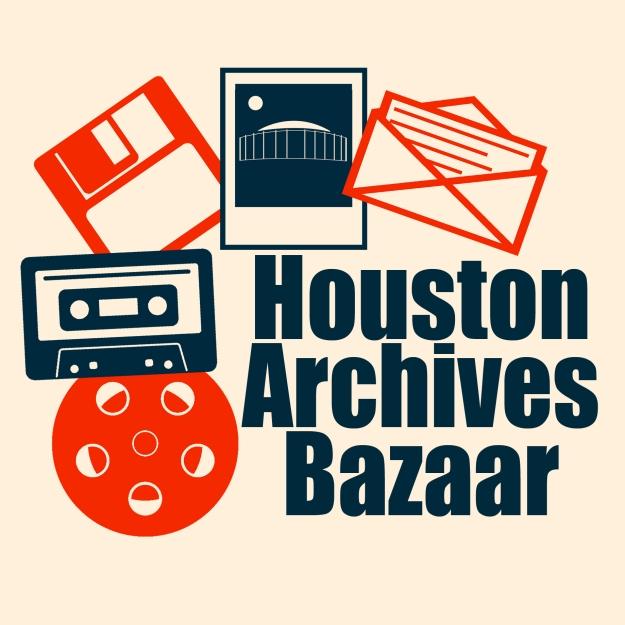 Logo for the Houston Archives Bazaar 2017.