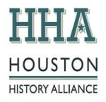 logo for Houston History Alliance, Event Sponsor for the Houston Archives Bazaar 2017.