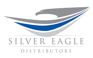 logo for Silver Eagle Distributors, Event Sponsor for the Houston Archives Bazaar 2017.